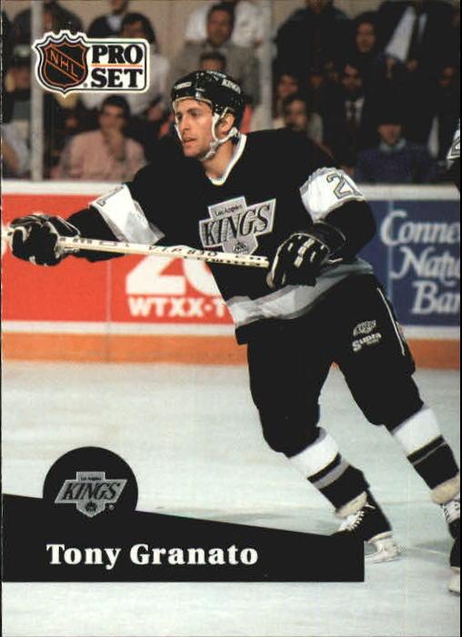 1991-92 Pro Set #98 Tony Granato