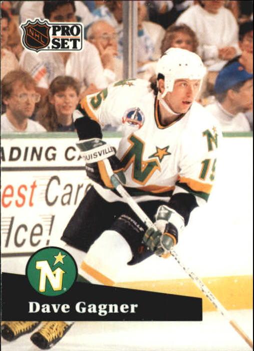 1991-92 Pro Set #108 Dave Gagner