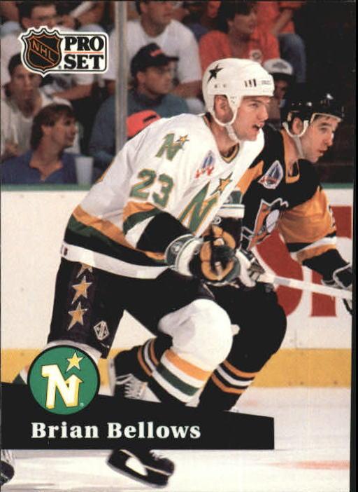 1991-92 Pro Set #109 Brian Bellows