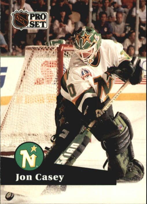 1991-92 Pro Set #111 Jon Casey