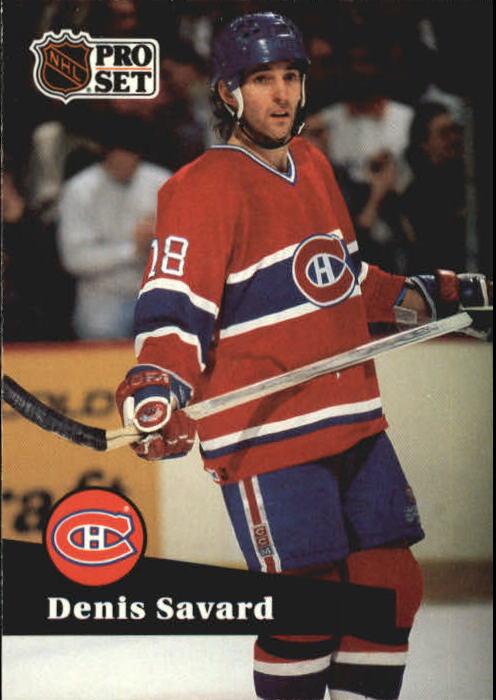 1991-92 Pro Set #128 Denis Savard