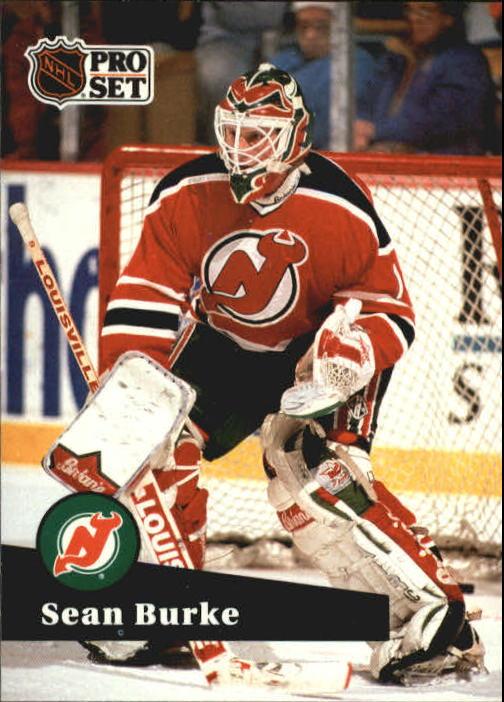 1991-92 Pro Set #132 Sean Burke