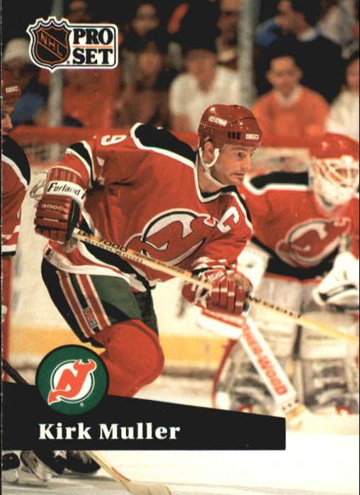 1991-92 Pro Set #134 Kirk Muller