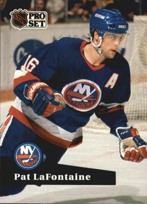 1991-92 Pro Set #149 Pat LaFontaine