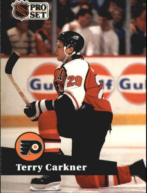1991-92 Pro Set #173 Terry Carkner