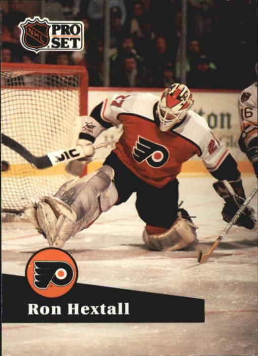 1991-92 Pro Set #176 Ron Hextall