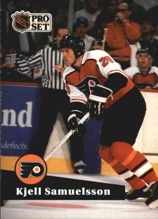 1991-92 Pro Set #181 Kjell Samuelsson