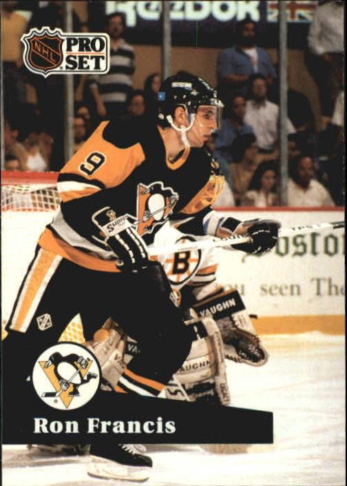 1991-92 Pro Set #188 Ron Francis
