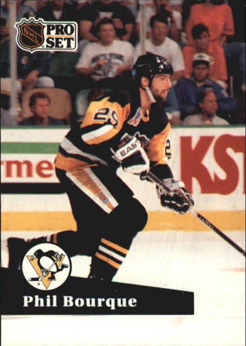 1991-92 Pro Set #189 Phil Bourque
