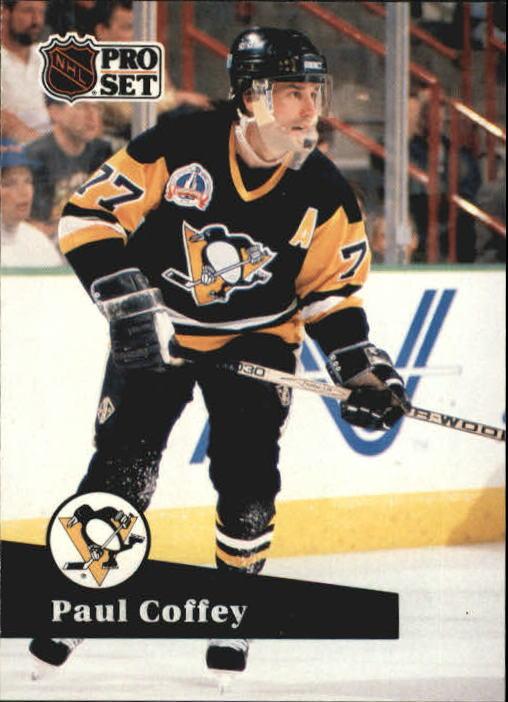 1991-92 Pro Set #190 Paul Coffey
