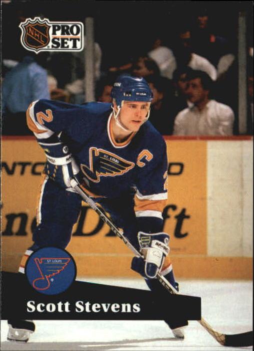 1991-92 Pro Set #216 Scott Stevens