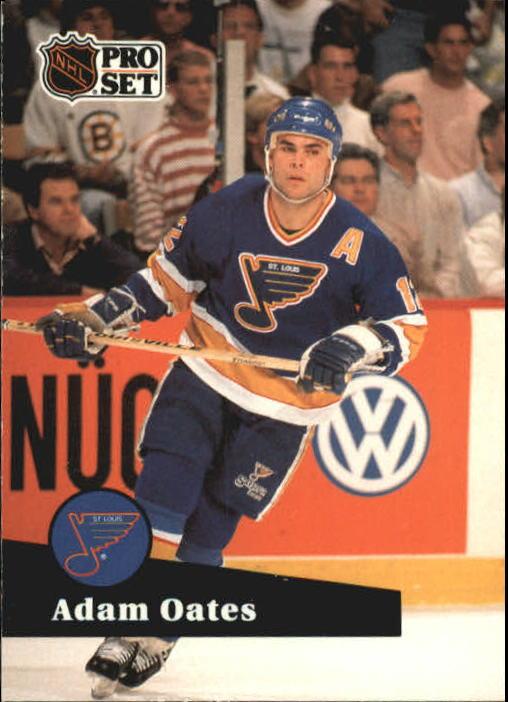 1991-92 Pro Set #219 Adam Oates UER