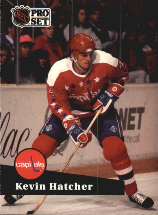 1991-92 Pro Set #249 Kevin Hatcher
