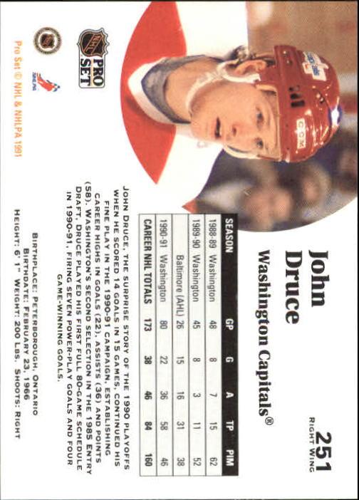 1991-92-Pro-Set-Hockey-s-251-500-Rookies-You-Pick-Buy-10-cards-FREE-SHIP thumbnail 3