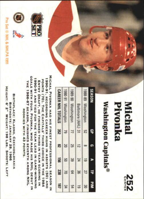 1991-92-Pro-Set-Hockey-s-251-500-Rookies-You-Pick-Buy-10-cards-FREE-SHIP thumbnail 5