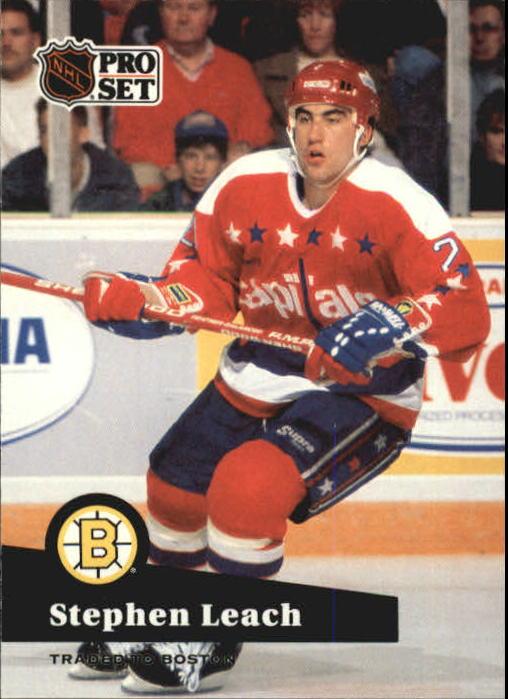 1991-92 Pro Set #253 Stephen Leach