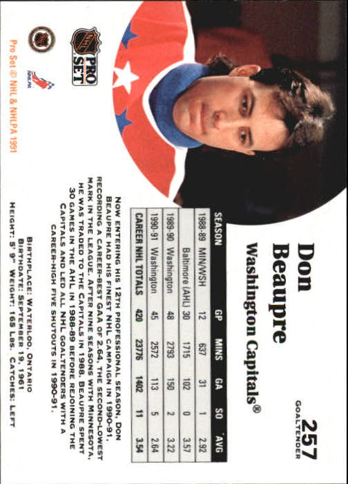 1991-92-Pro-Set-Hockey-s-251-500-Rookies-You-Pick-Buy-10-cards-FREE-SHIP thumbnail 13