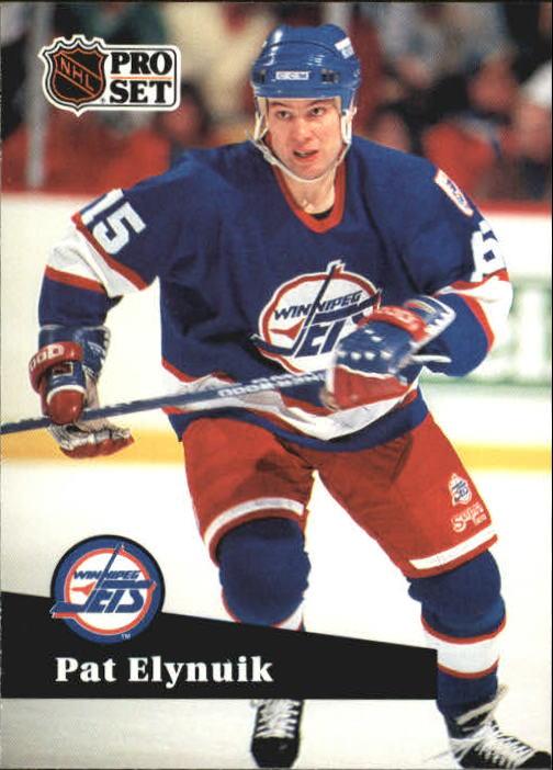 1991-92 Pro Set #262 Pat Elynuik