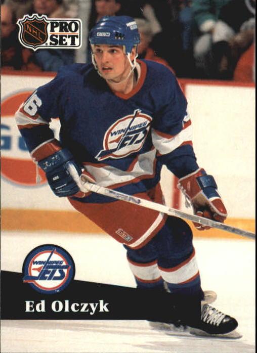 1991-92 Pro Set #265 Ed Olczyk