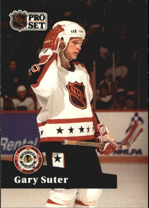 1991-92 Pro Set #276 Gary Suter AS