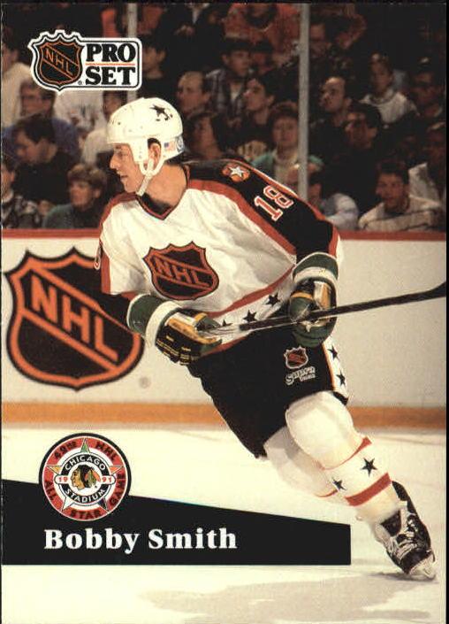 1991-92 Pro Set #289 Bobby Smith AS