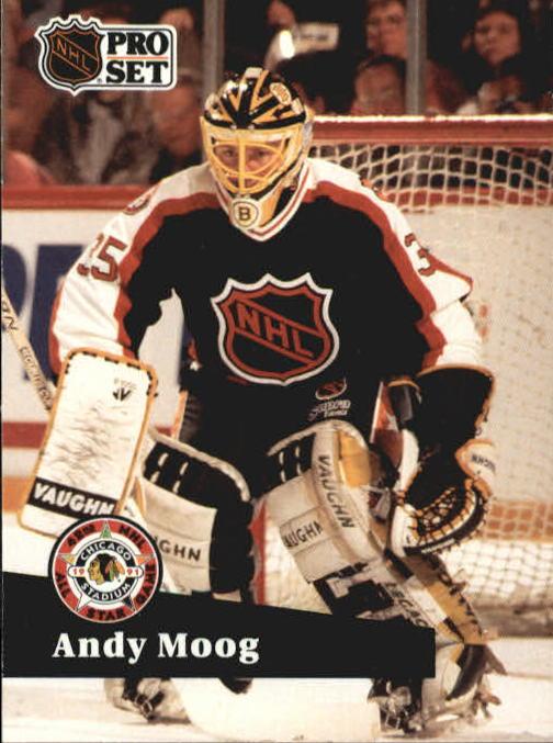 1991-92 Pro Set #299 Andy Moog AS