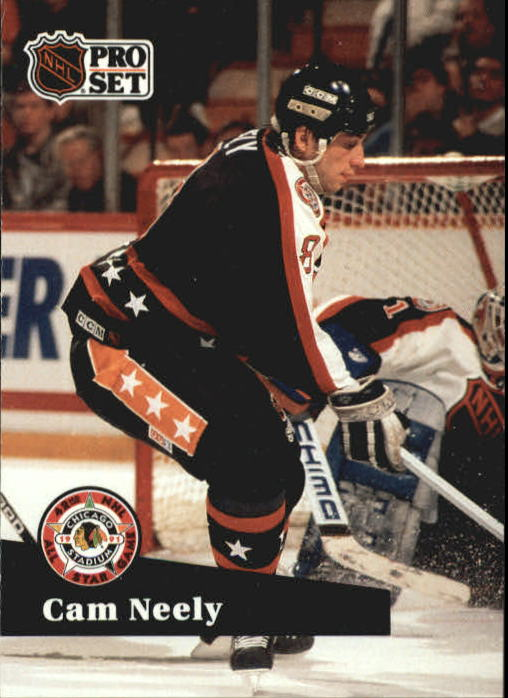 1991-92 Pro Set #300 Cam Neely AS