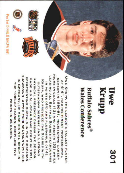 1991-92-Pro-Set-Hockey-s-251-500-Rookies-You-Pick-Buy-10-cards-FREE-SHIP thumbnail 51