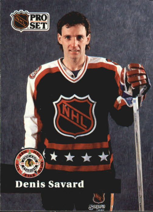 1991-92 Pro Set #305 Denis Savard AS