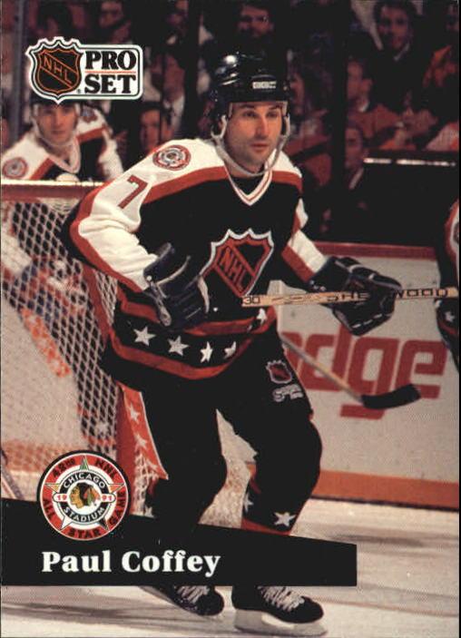 1991-92 Pro Set #312 Paul Coffey AS