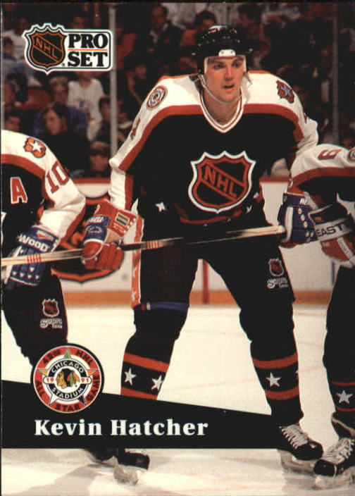 1991-92 Pro Set #316 Kevin Hatcher AS