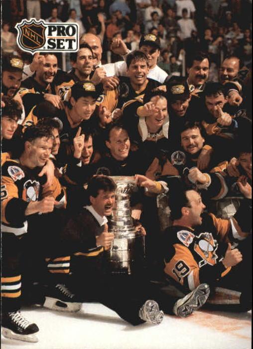 1991-92 Pro Set #319 Pittsburgh Penguins UER