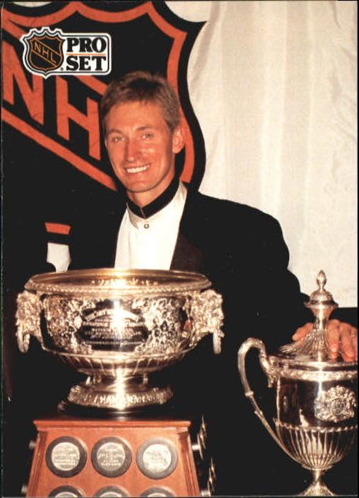1991-92 Pro Set #324 Wayne Gretzky Ross/Lady Byng