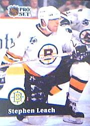 1991-92 Pro Set #346 Stephen Leach
