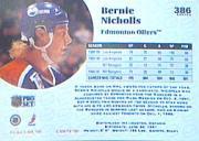 1991-92 Pro Set #386 Bernie Nicholls back image