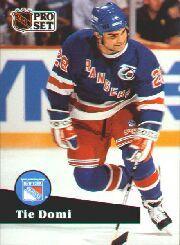 1991-92 Pro Set #440 Tie Domi