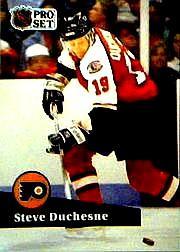 1991-92 Pro Set #448 Steve Duchesne
