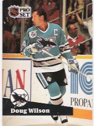 1991-92 Pro Set #478 Doug Wilson