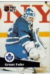 1991-92 Pro Set #494 Grant Fuhr