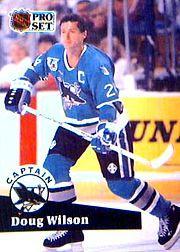 1991-92 Pro Set #584 Doug Wilson CAP
