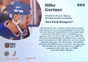 1991-92 Pro Set #604 Mike Gartner LL back image
