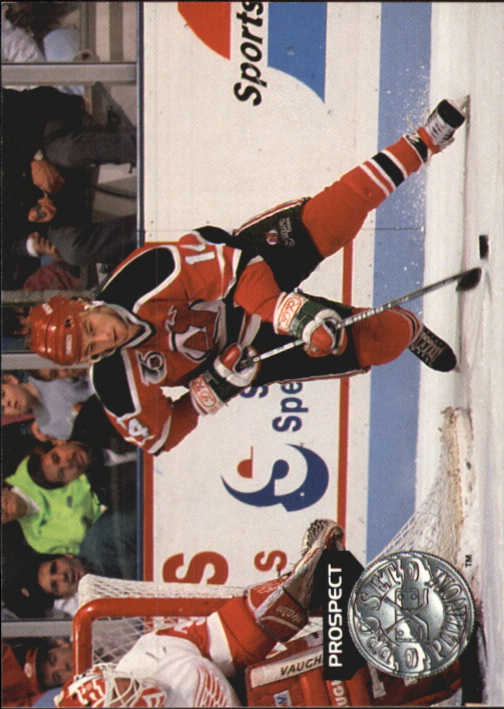1991-92 Pro Set Platinum #259 John LeClair RC