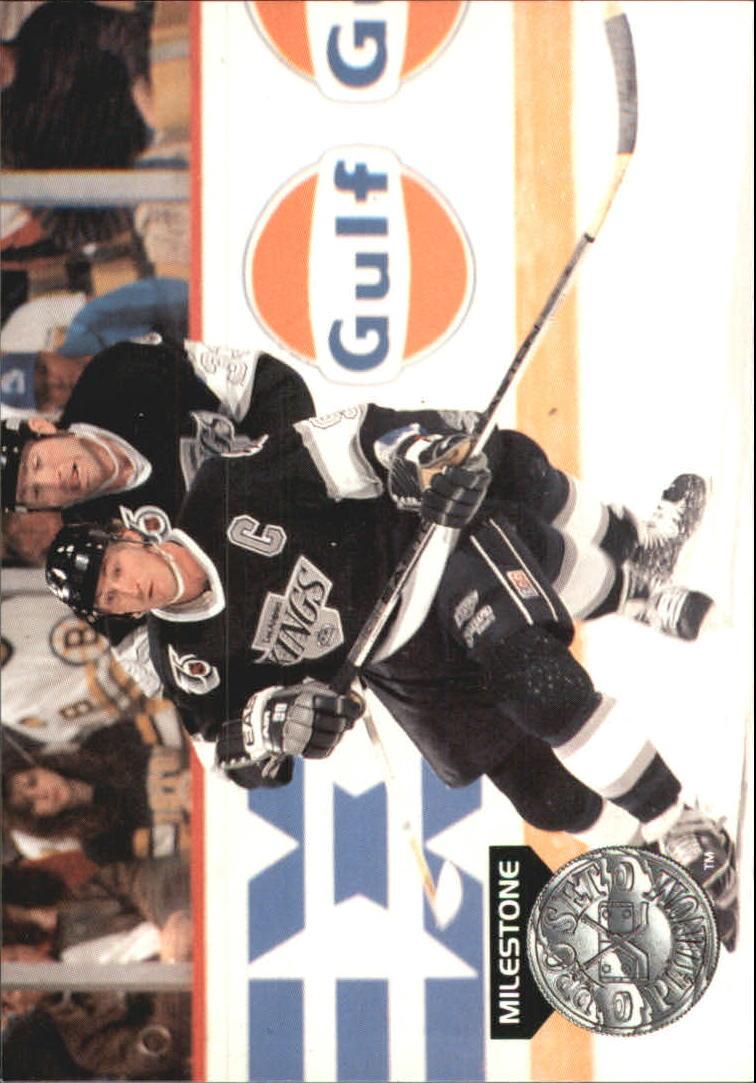 1991-92 Pro Set Platinum PC #PC14 Wayne Gretzky