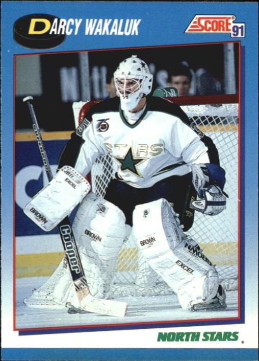 1991-92 Score Canadian Bilingual #653 Darcy Wakaluk RC
