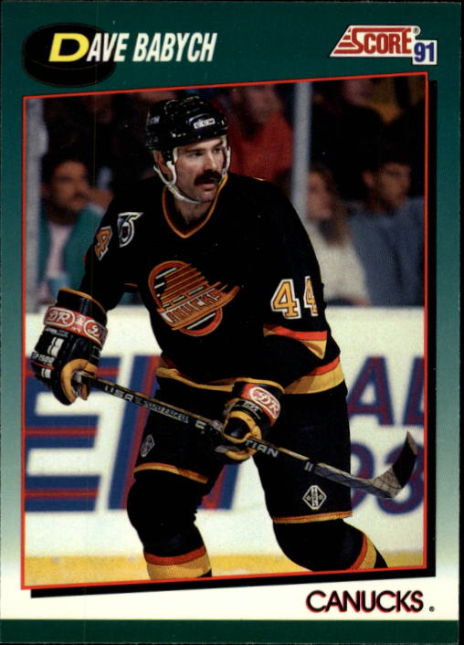 1991-92 Score Rookie Traded #34T Dave Babych