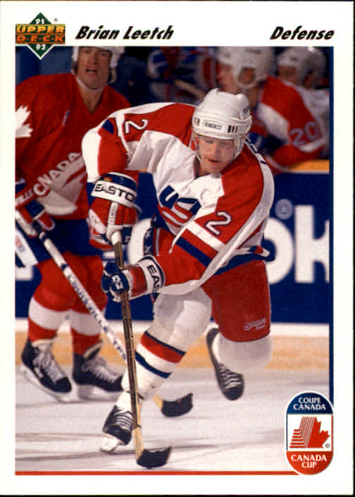 1991-92 Upper Deck #35 Brian Leetch CC