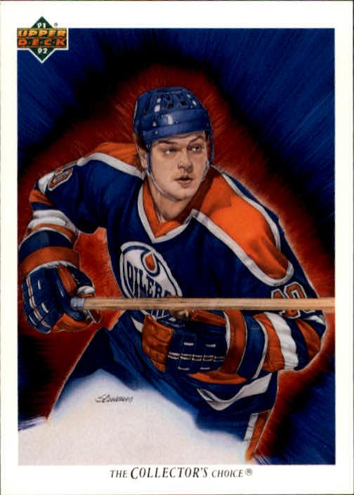 1991-92 Upper Deck #83 Esa Tikkanen/(Edmonton Oilers TC)