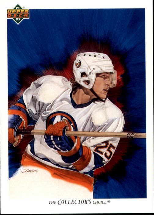 1991-92 Upper Deck #89 David Volek/(New York Islanders TC)