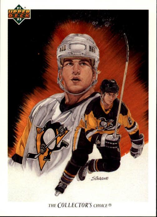1991-92 Upper Deck #92 Mark Recchi/(Pittsburgh Penguins TC)