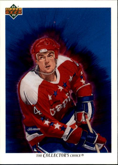 1991-92 Upper Deck #98 Kevin Hatcher/(Washington Capitals TC)